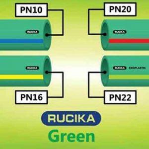 pipa ppr rucika green